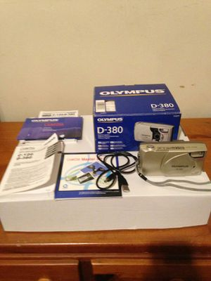 Olympus D380 Digital Camera with USB cable, SD Card, Box for Sale in Scranton, PA