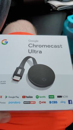 Google Chrome cast ultra for Sale in Hanover,  MD
