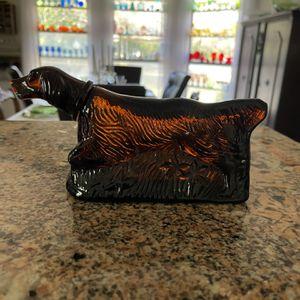 Vintage AVON brown Glass Dog Cologne Bottle for Sale in Denton, TX