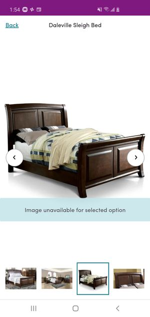 King size sleigh bed for Sale in Sharon Hill, PA