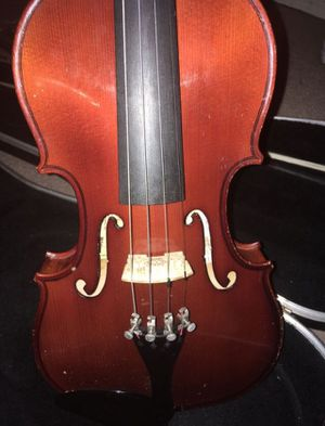 3/4 used violin with case and old bow and rosin for Sale in Oceanside, CA