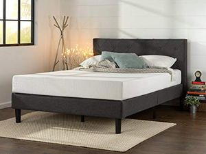 New In Box! Zinus Shalini Upholstered Diamond Stitched Platform Bed / Full Size for Sale in Mason, OH