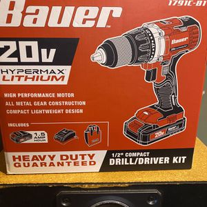 Bauer Brand New Drill for Sale in Elkhart, IN
