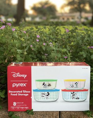 Disney pyrex glass food storage 💖 for Sale in Spring, TX