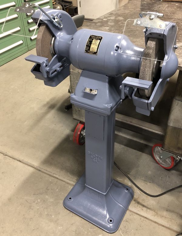 Excellent Baldor 10 Bench Pedestal Grinder 1 Hp Cast Iron For Sale In Andrewgaddart Wooden Chair Designs For Living Room Andrewgaddartcom