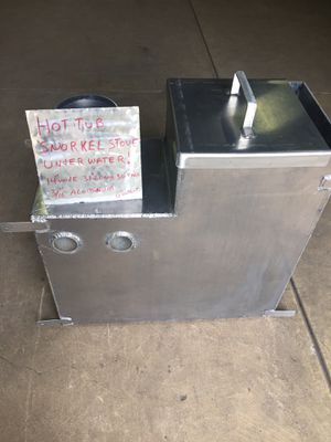 Hot Tub Snorkel Wood stove for Sale in Molalla, OR
