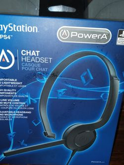 Playstation 4 Gaming Headset! Brand New, Never Opened Box! for Sale in Staunton,  VA