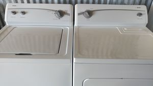 Kenmore 400 Series Super Capacity washer/dryer set for Sale in Lubbock, TX