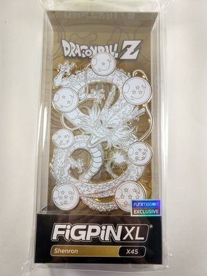 New Figpin Funimation Dragonball Z Shenron XL Limited Edition White Gold for Sale in Culver City, CA