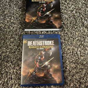 Deathstroke: Knights and Dragons Blu-ray + Dvs (no digital code) for Sale in Fresno, CA