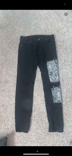 4x1111 Supreme Overall Patch Custom-Made Jeans for Sale in Oklahoma City, OK