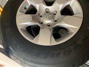 Dodge Ram 1500 Goodyear tires for Sale in Kissimmee, FL
