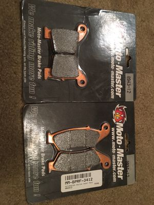 Front and rear racing brake pads for dirt bikes for Sale in Chicago, IL
