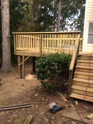 I am carpenter i do all type of construction please give me call if you need help with your project call to {contact info removed} for Sale in Chapel Hill, NC