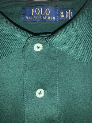 Polo Ralph Lauren green shirt for Sale in Ontario, CA