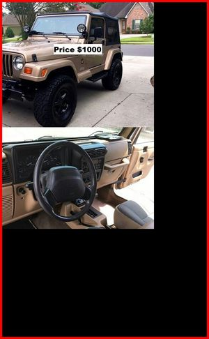 ֆ1OOO Jeep Wrangler for Sale in Hayward, CA