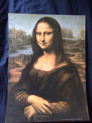 Mona Lisa replica art piece for Sale in Blacksburg, VA