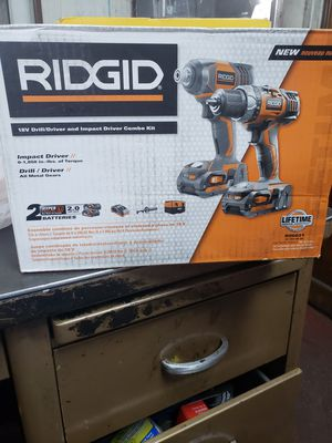 Rigid battery combo for Sale in San Bernardino, CA