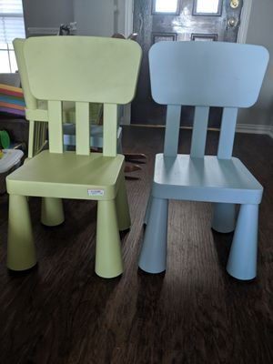 4 Ikea kids chairs for Sale in Flower Mound, TX