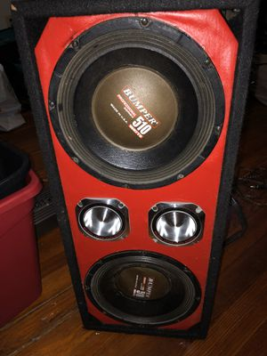 10 inches chuchero 2000 watts for Sale in Boston, MA