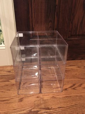 Acrylic Container Store Stackable Shoe Storage for Sale in Berlin, NJ