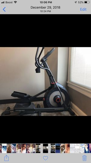 Elliptical 250 cash only you must pick up no holds for Sale in Quincy, IL