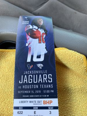 Texans tickets for Sale in Katy, TX