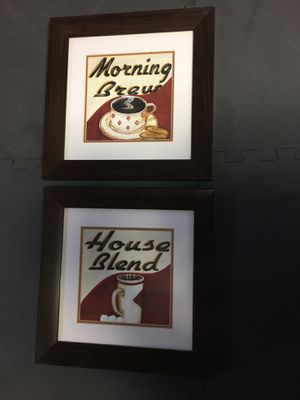 Wall Art / Coffee Theme frames for Sale in Los Angeles, CA