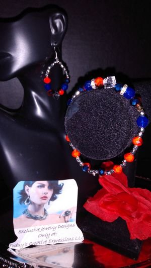The Reds & Blues Jewelry Set! for Sale in Baton Rouge, LA