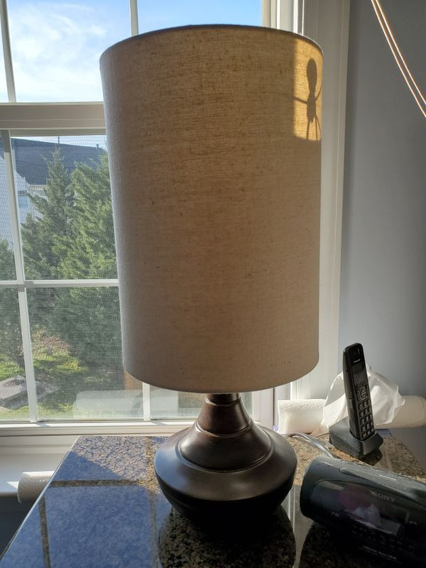 Brown Night Stand Lamp
