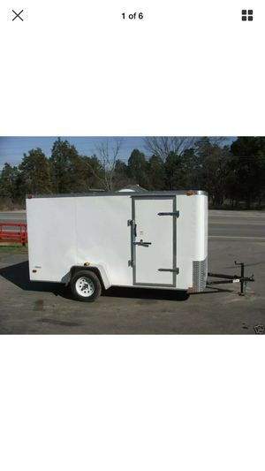Avenger enclosed 6 x 10 trailer for Sale in Long Branch, NJ