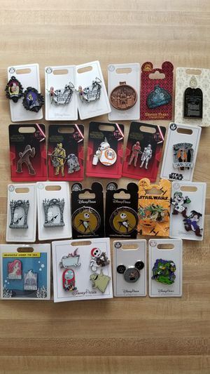 Disneyland trading pins lot for Sale in West Covina, CA