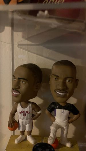 Vince carter bubble head for 2 for Sale in Rowland Heights, CA