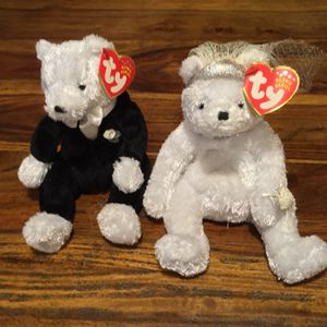 TY beanie Babies - Bride & Groom set. for Sale in Vancouver, WA