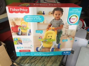 Fisher price stroll and learn walker for Sale in Lewisville, TX