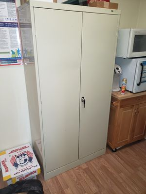 Storage cabinet with shelves for Sale in Teaneck, NJ
