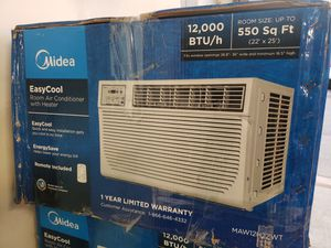 12000btu AIR CONDITIONER AC UNIT AIRE ACONDICIONADO portable portatil windows AC wall AC AIR conditioning for Sale in Miami, FL