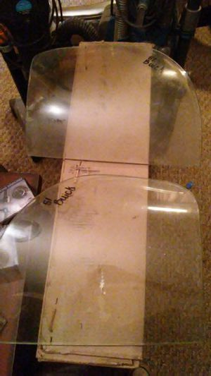 1951 Buick rear windshield corner glass for Sale in Denver, CO
