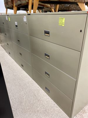 Schwab 5000 Fire proof lateral filing cabinets for Sale in Hyde Park, OH