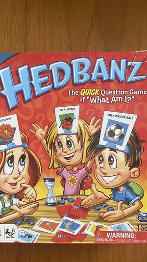 Hedbanz 2nd Edition Board Game for kids for Sale in Phoenix, AZ