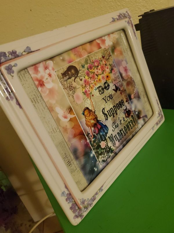 New Alice and wonderland print