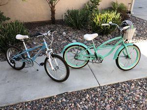 "Kids Mountain Bike and Kids Cruiser Bike Novara 6-speed and FirmStrong ""Very Nice"" $125 Each for Sale in Lakeside, CA"