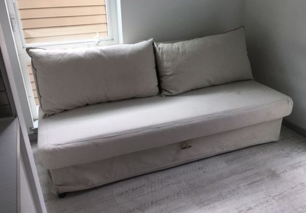 Fantastic Ikea Sofa Sleeper Futon Perfect Bed Couch For Small Spaces Bralicious Painted Fabric Chair Ideas Braliciousco