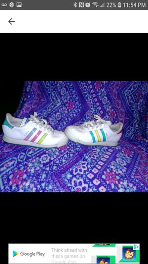 Girls Adidas sneakers size 5.5Y for Sale in Waterford, PA