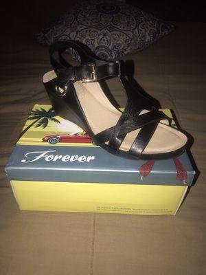 Forever black heels for Sale in Pasadena, CA