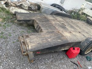 Car trailer with ramps for Sale in Lebanon, TN