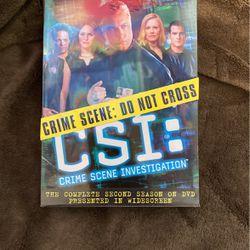 CSI: Second Season DVD for Sale in Sacramento,  CA