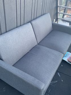 Adjustable gray futon for Sale in Brooklyn,  NY