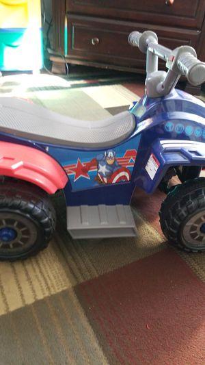 Captain America 4 wheeler for Sale in Lynn, MA