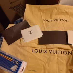 Louis Vuitton Dust Bag for Sale in San Bernardino, CA
